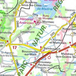 Parcours Vtt Sorcy Cree Par Jm B Localise A Sorcy Saint Martin 55 France